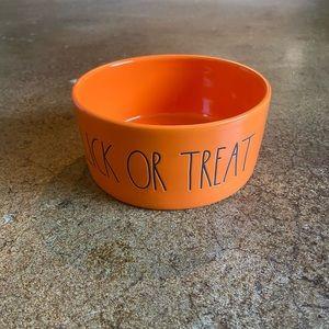 Rae Dunn Accents - NEW Rae Dunn Halloween Pet Dog Cat Bowl